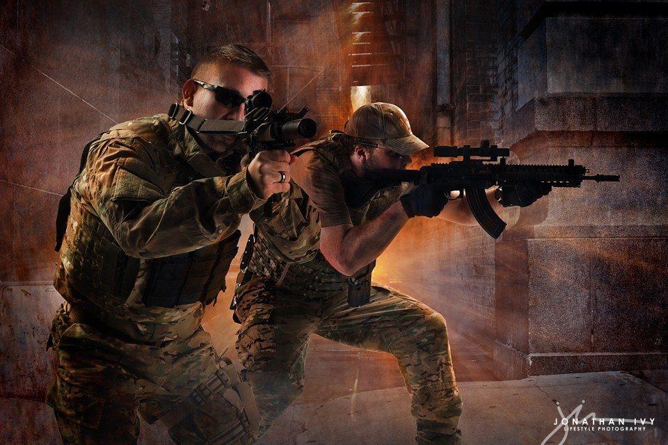 Military Tactical Assault team wallpaper graphic composite