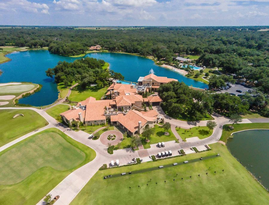 Country Club Aerial Photographer San Antonio