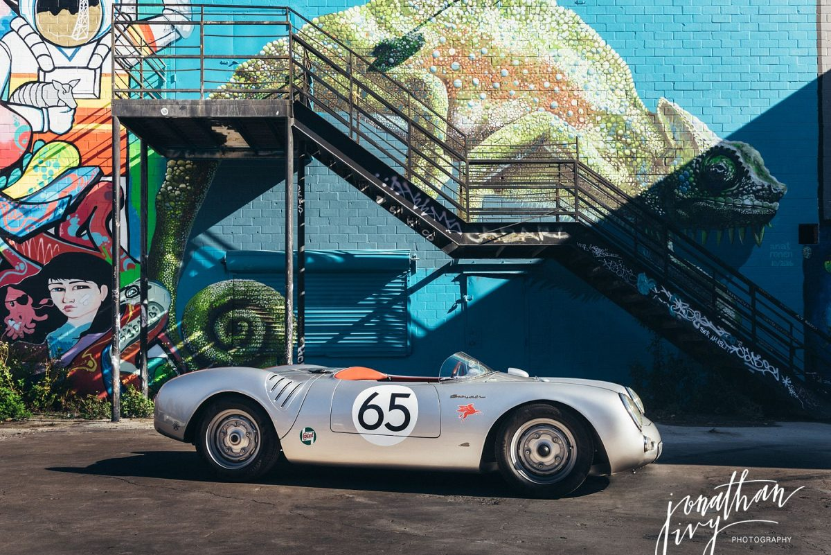 san antonio car photographer - porsche 550 spyder replica - jonathan ivy