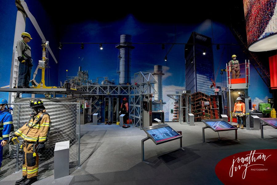 Industrial training facility museum