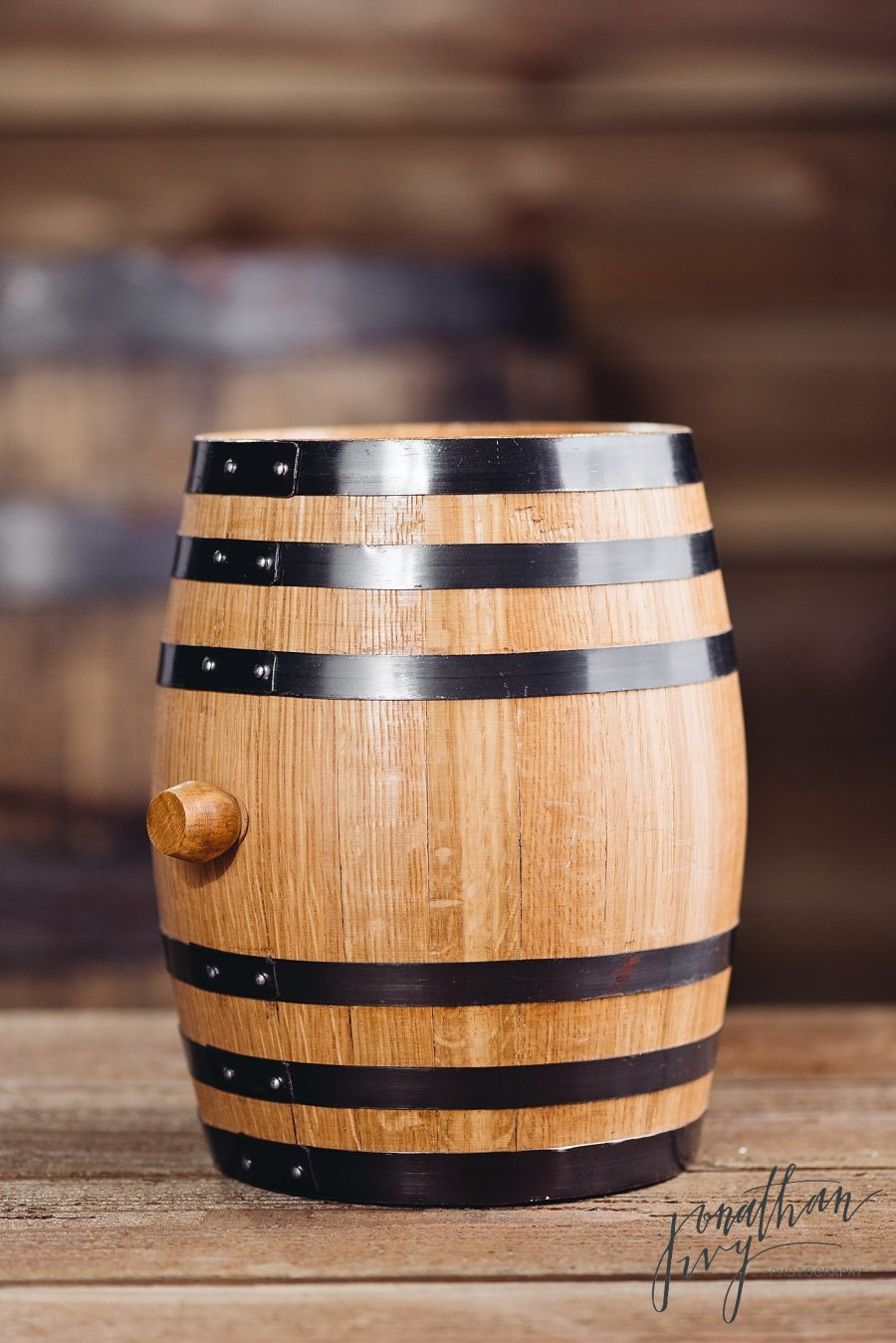 Product Photographer in Houston - Deep South Barrels