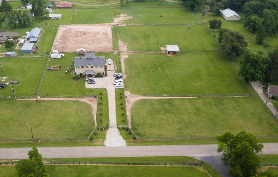 The Woodlands Ranch Aerial Photography with Drones