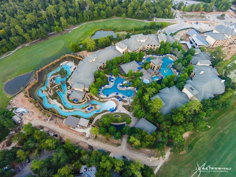 Aerial Photography The Woodlands Resort