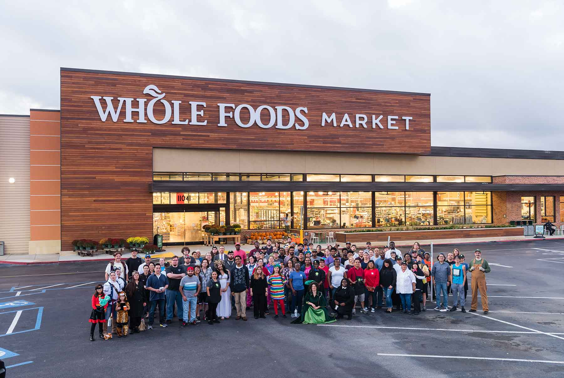 Before-Whole Foods Group Photo