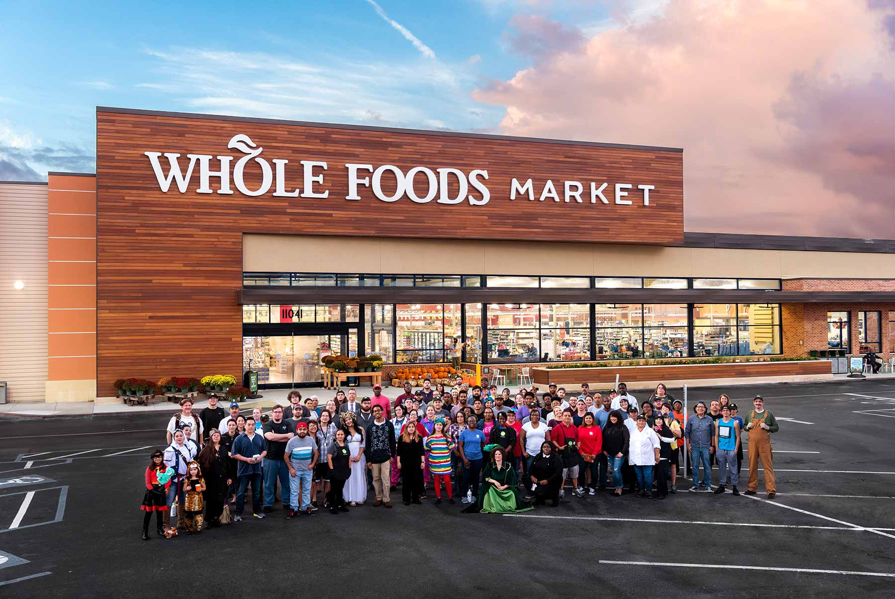 After-Whole Foods Group Photo